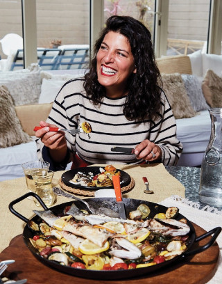 A Fashion Designer's Simple Mediterranean Fish Dish