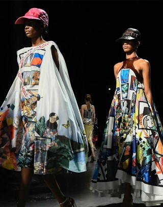 #SuzyLFW Mary Katrantzou: The Meaning Of Milestones