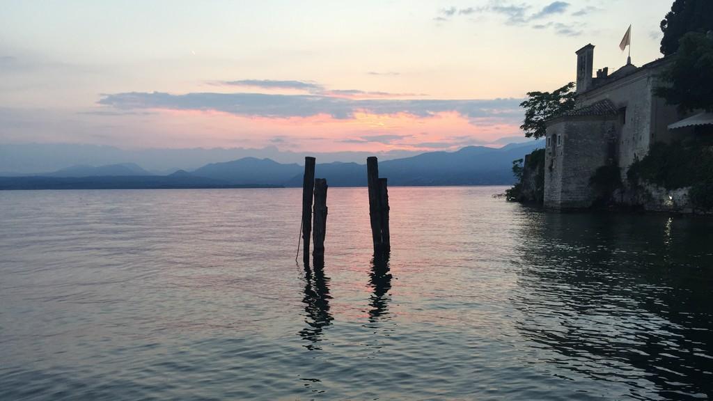 Giro Italia - 2015 May - Veneto - Lago di Garda - San Vigilio