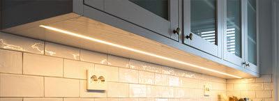LED strips: Kitchen