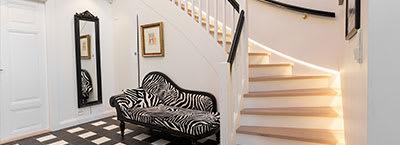 LED strips: Stairs & Hallways