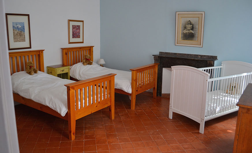 french rural retreat-twin room