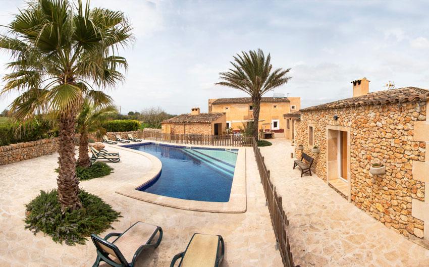 mallorcan farmhouse garden pool