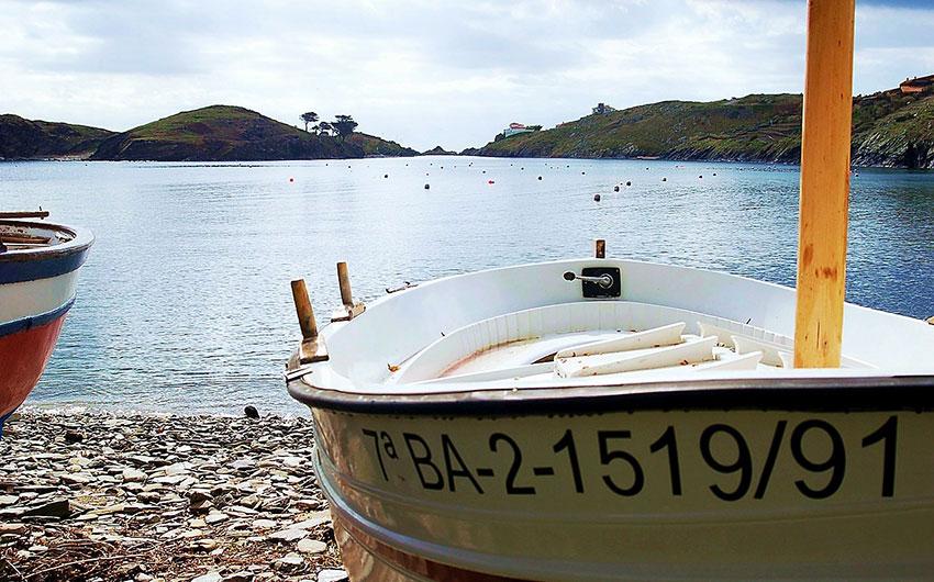 costa brava fishing boats