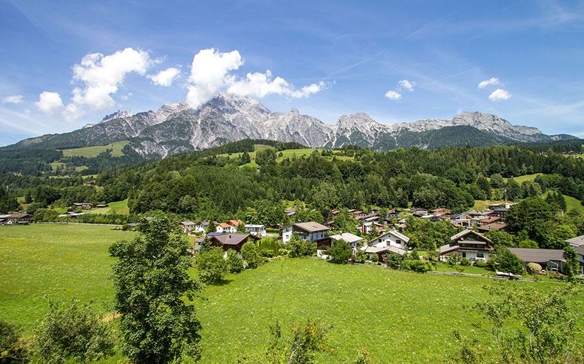 mountains of austria