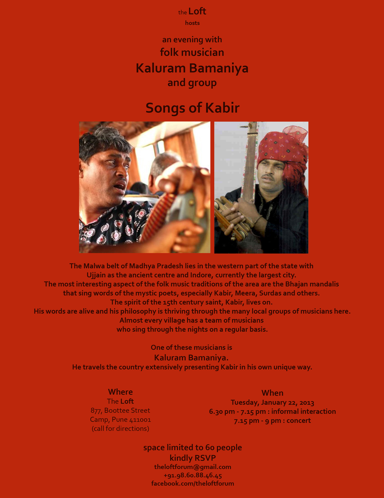 Kaluram Bamanya + Group