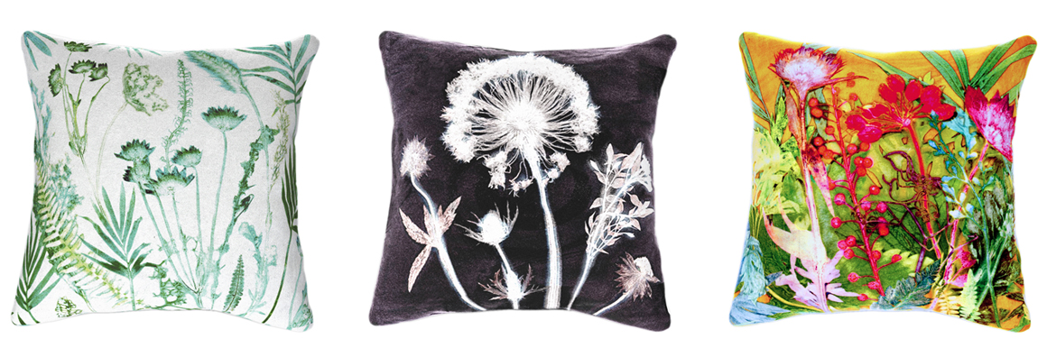 Gillian Arnold's Botanical Cushions