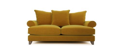 Briony 2.5 Seater - Golden Spice, Velvet Touch