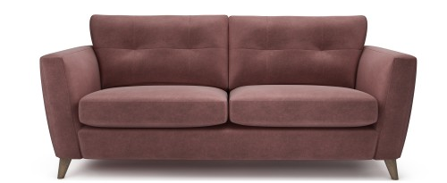 Holly 3 Seater, Raspberry Rhodonite