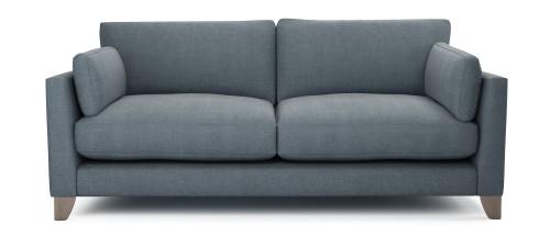 Paloma 3 Seater Sofa, Nordic Dusk Washed Cotton