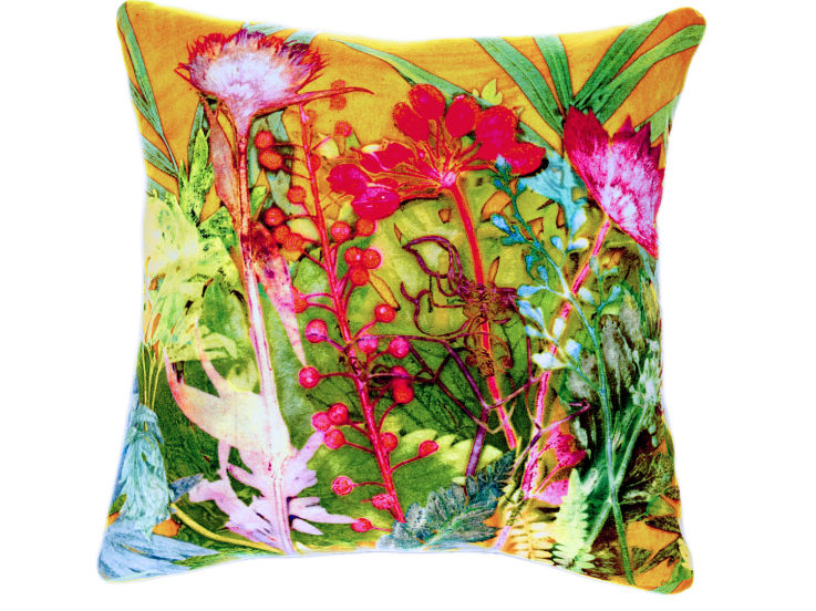 Botanical Tropical Cushion