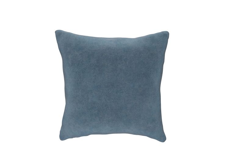 Faded Denim Cushion