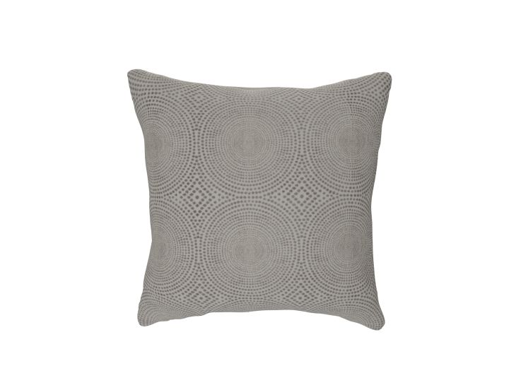 Kateri Silver Cushion