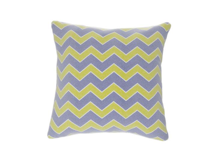 Geometric Flamestitch Cushion