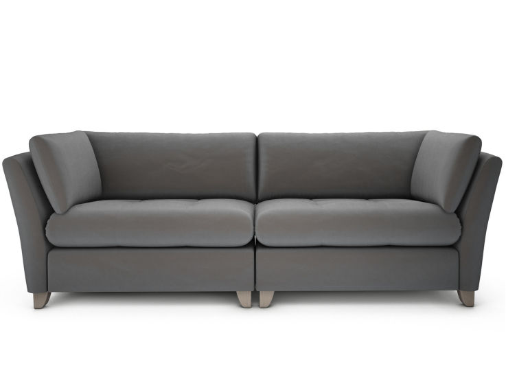 Violet Velvet Sofa