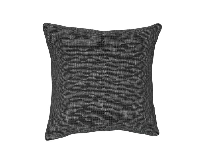 Crossed Paths Charcoal Cushion