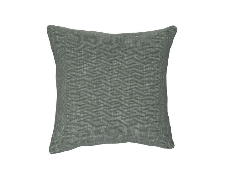 Crossed Paths Green Cushion