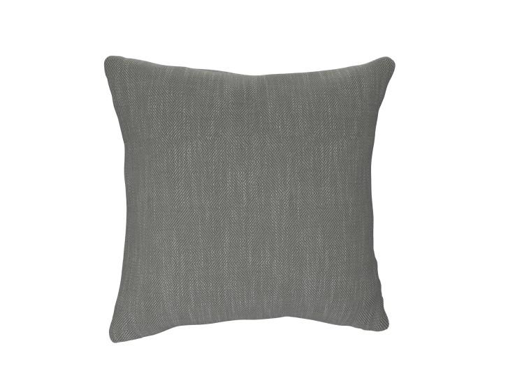 Crossed Paths Grey Cushion