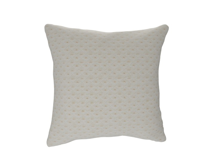 Deco Diamond Ivory Cushion