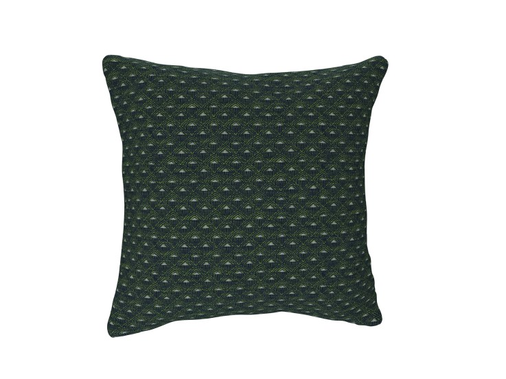 Deco Diamond Navy Cushion