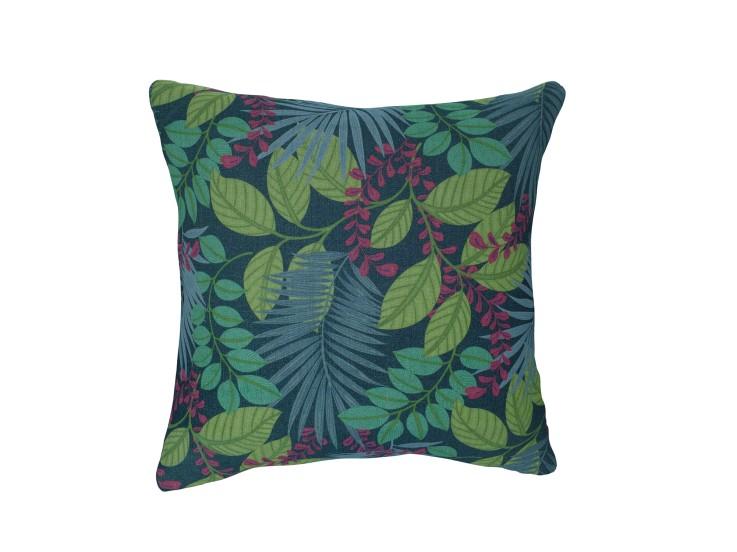 Jungle Shade Blue Cushion