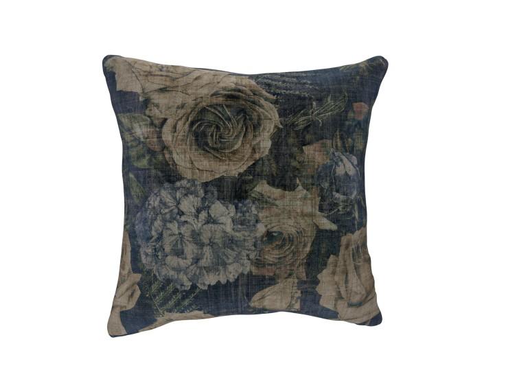 Midnight Garden Dusk Cushion