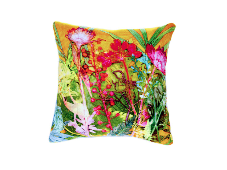 Botanical Tropical Cushion