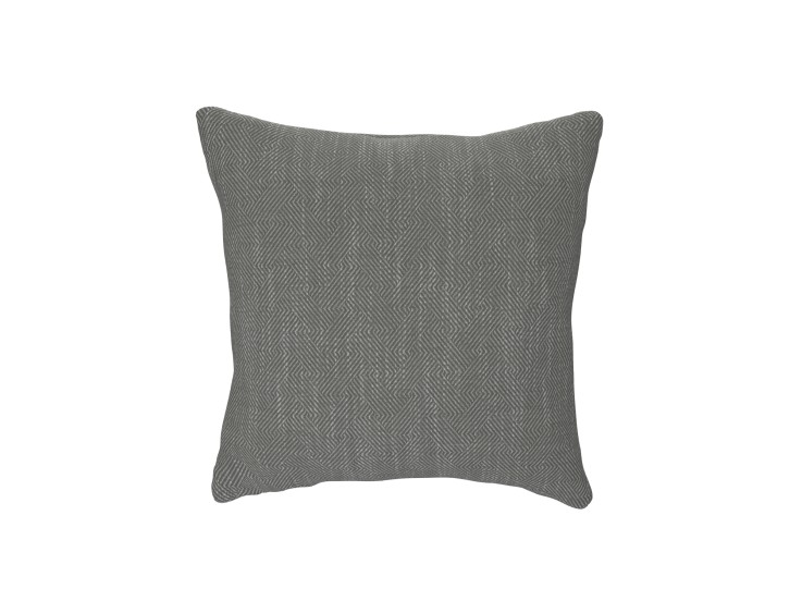 Crossed Paths Grey Cushion