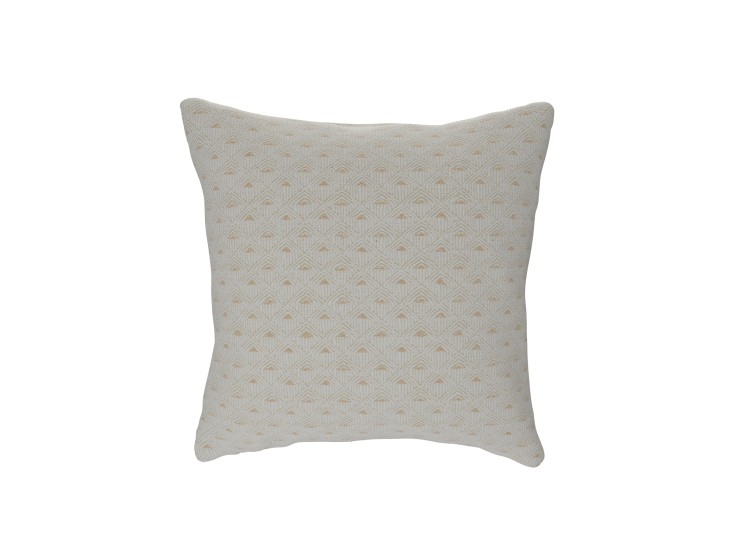 Deco Diamond Ivory Cushion