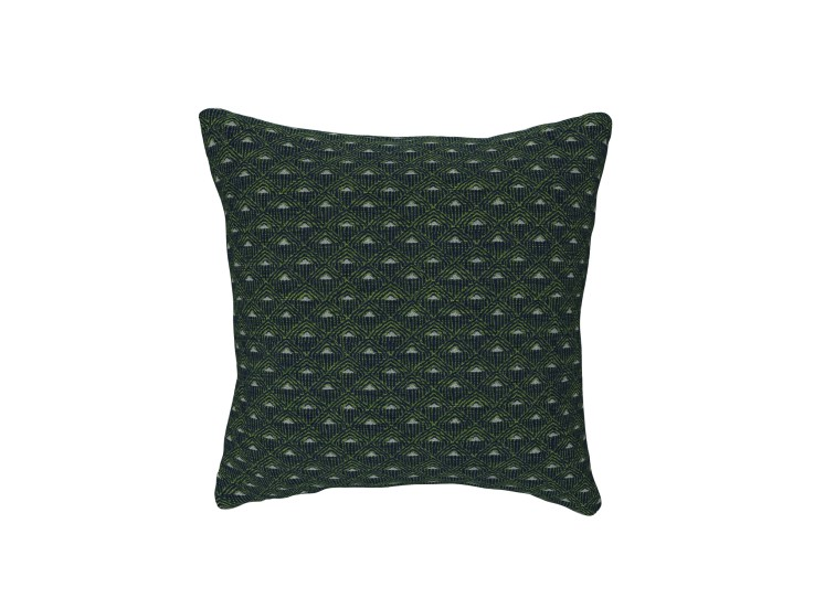 Deco Diamond Navy Cushion