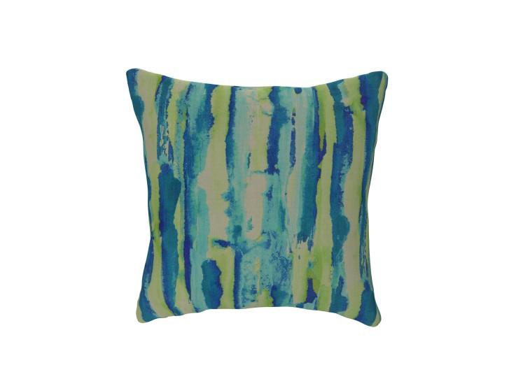 Watercolour Stripe Spring Cushion