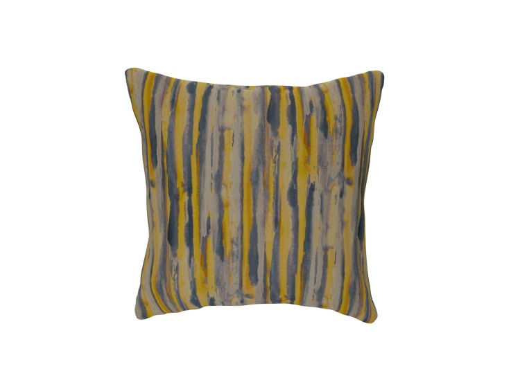 Watercolour Stripe Sunset Cushion