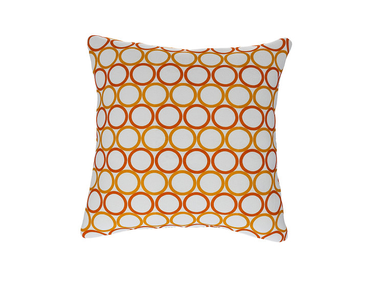 Geometric Circle Cushion