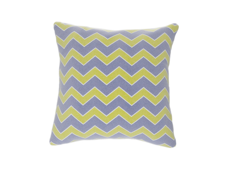 Geometric Flamestitch Cushion