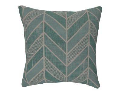 Designer Cushion, Crafty Chevron, Aqua