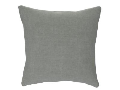 Small Cushion, Washed Cotton - Frozen Lake