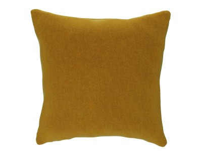 Small Cushion, Velvet Touch, Golden Spice