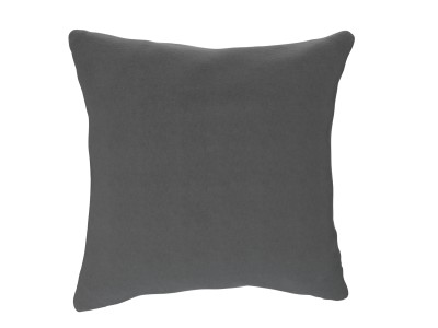 Large Cushion, Slate Shadow, Velvet Touch