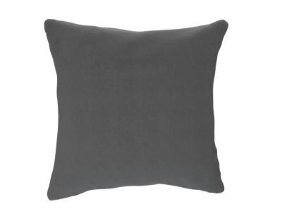 Large Cushion, Slate Shadow, Velvet Touch