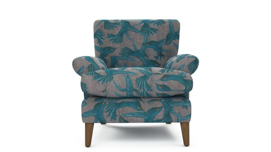 Joshua Chair, Paradise Bird - Grey