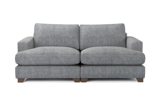 Lola, 3 Seater Sofa, Family Friendly Basket Weave - Wolf Paw