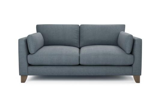 Paloma, 2.5 Seater Sofa, Washed Cotton - Nordic Dusk