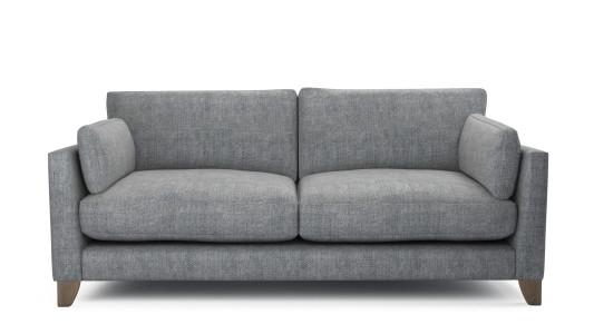 Paloma, 3 Seater Sofa, Family Friendly Basket Weave - Wolf Paw