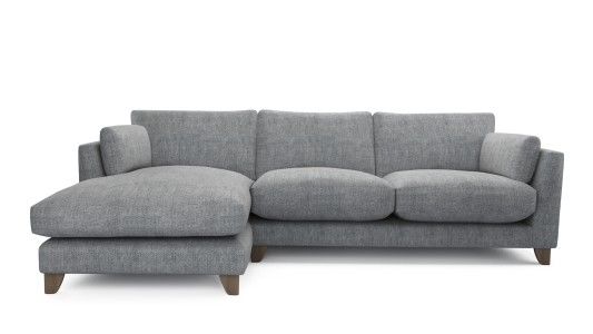Paloma, Chaise End Left, Family Friendly Basket Weave - Wolf Paw