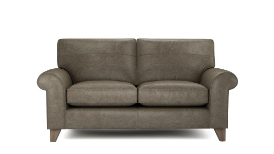 Penelope 2.5 Seater, Vintage Leather - Granite