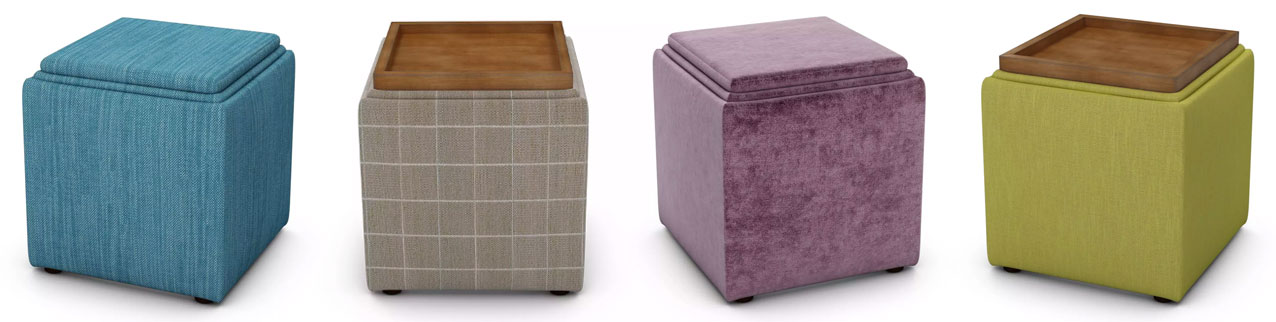 Taylor Storage Footstools