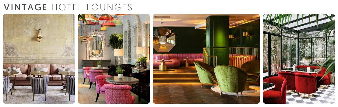 Vintage Hotel Lounges