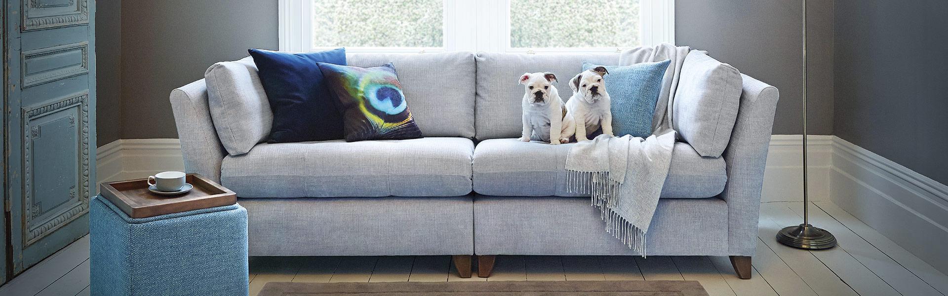 Violet Sofa, Fabric Sofas Large