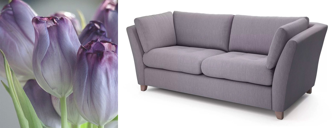 Purple Sofa