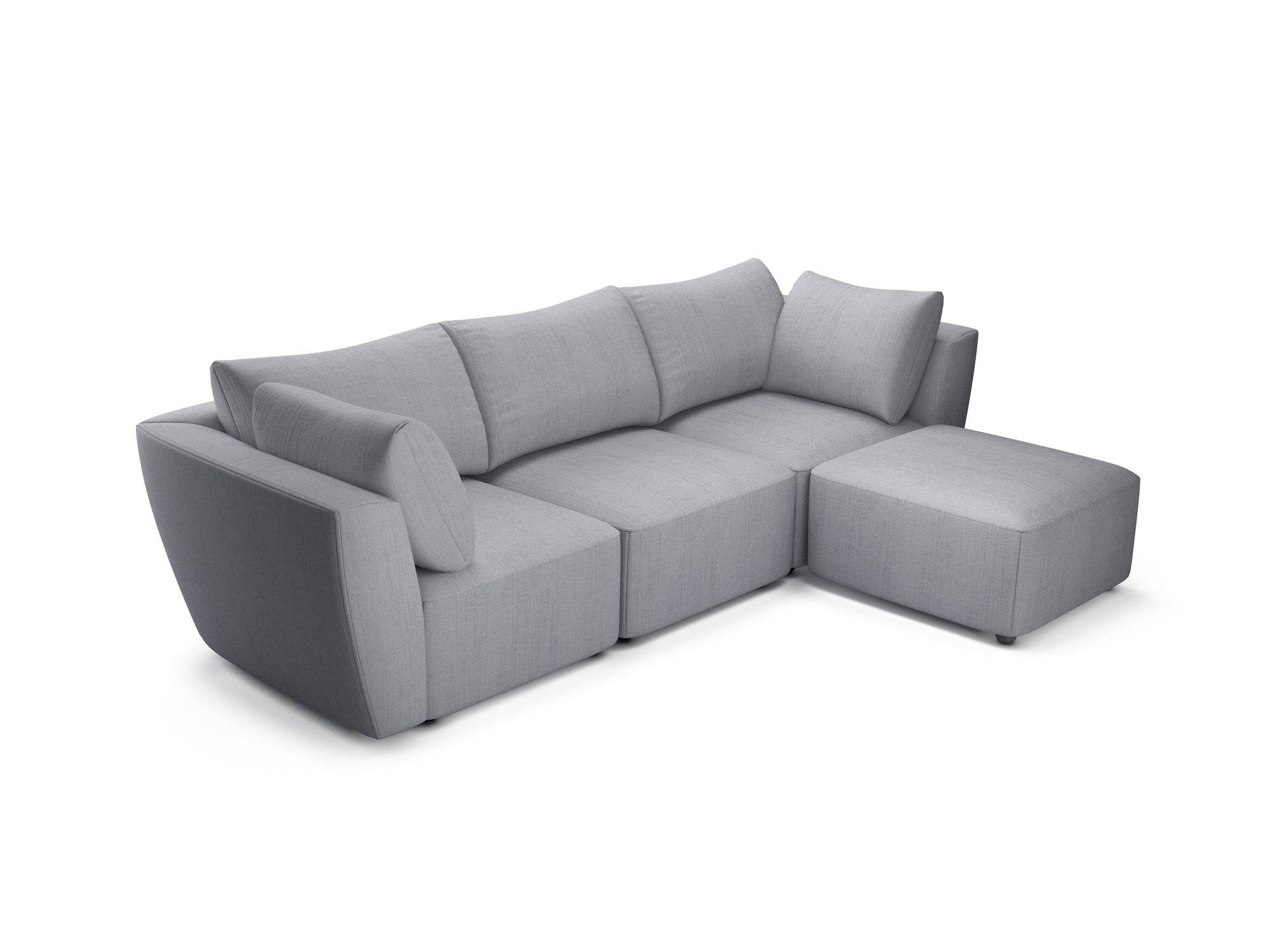 Lottie Grey Sofa